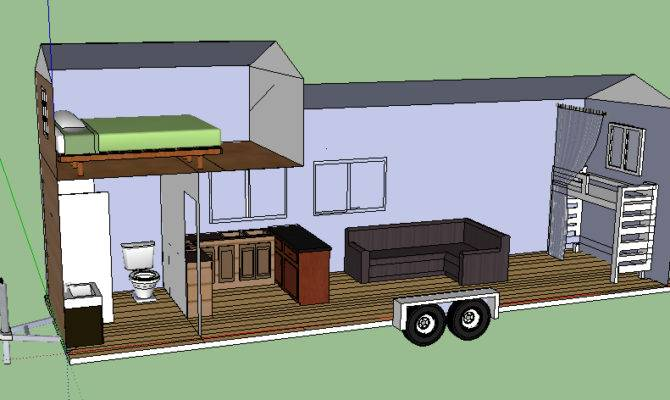 Tiny House Trailer Plans Sale Home Deco