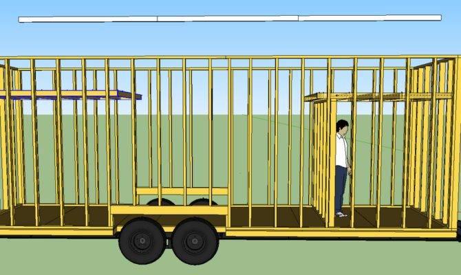 Tiny House Trailer Plans Simple Framework Form