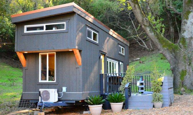 Tiny House Walk Through Exterior Basics