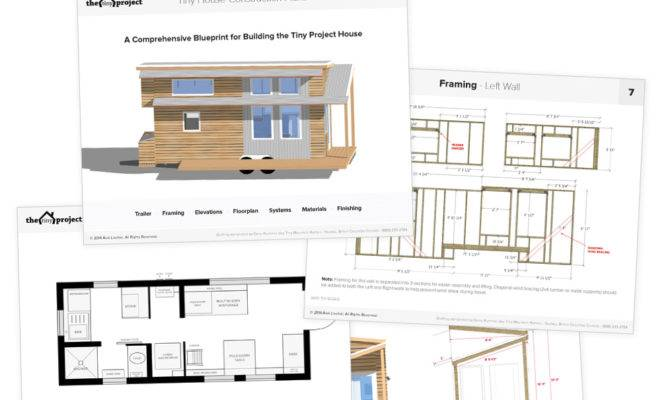 Tiny Homes On Wheels Floor Plans Ideas House Plans
