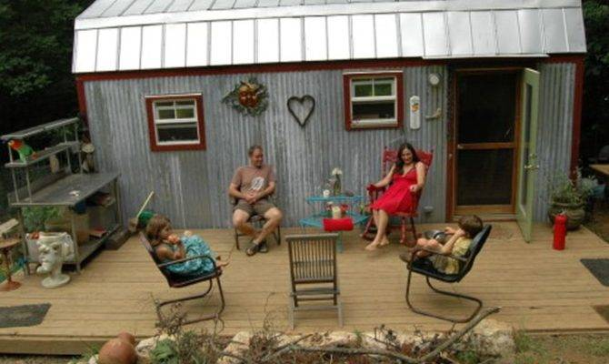 Tiny Houses Big Lives Families Make Small Spaces Work Real