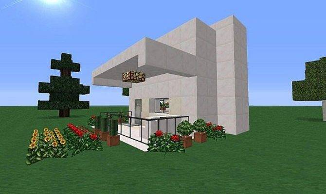 Tiny Space Efficient House Minecraft Project