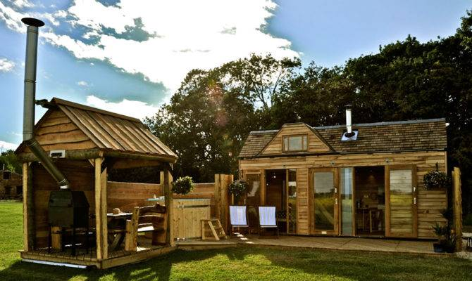 Tiny Wooden House Swoon