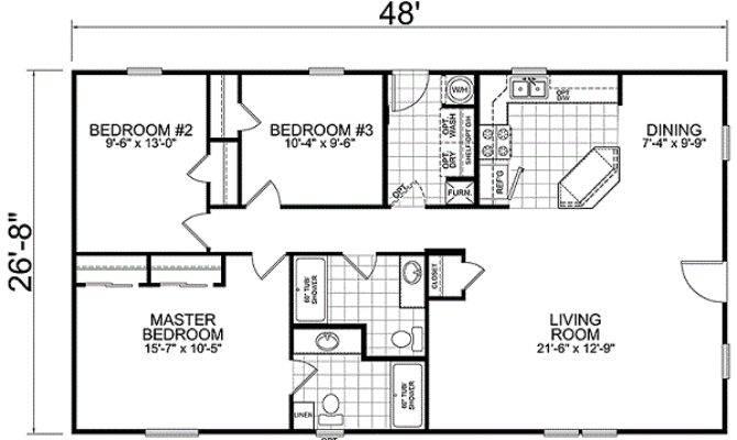 Tips Choose Right House Trailer Floor Plans