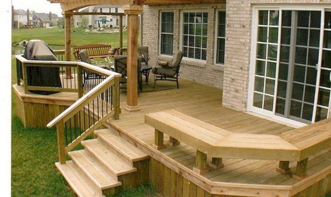 Tips Start Building Backyard Deck Gardening