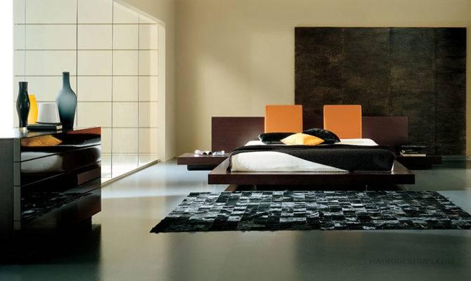 Tokyo Floating Platform Bed Bedroom Furniture Haiku
