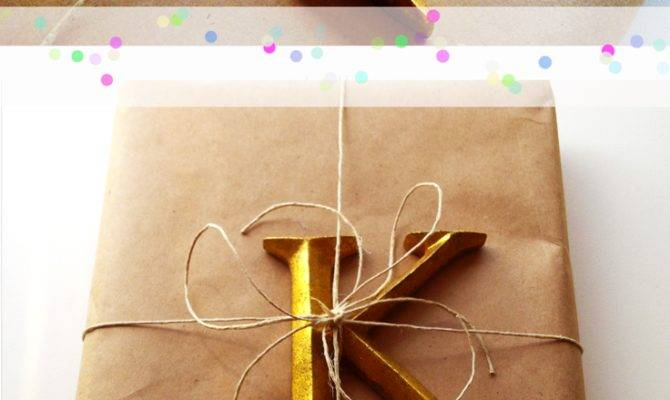 Top Beautiful Diy Brown Paper Wrapping Ideas