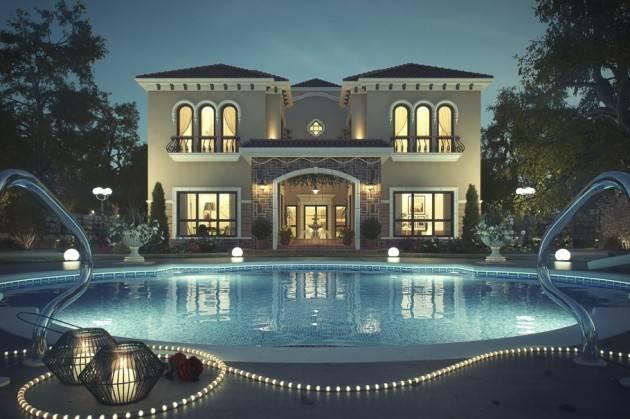 Top Breathtaking Luxury Villas Design Ideas World House Plans 102996