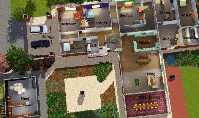Top Cool Sims House Designs Jpeg