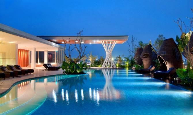 Top Ten Hotel Rooftop Pools Huffpost