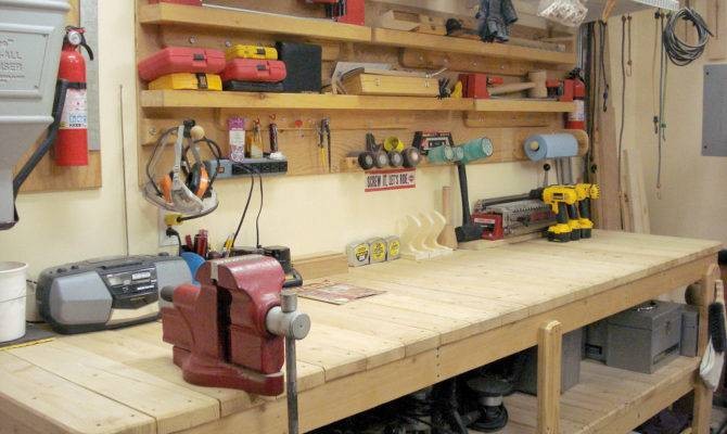 Top Work Benches Garages
