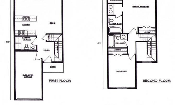 Town House Floor Plans Unique