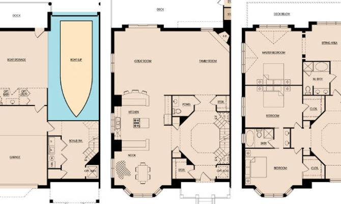 Townhome Building Harbor Light Floorplans