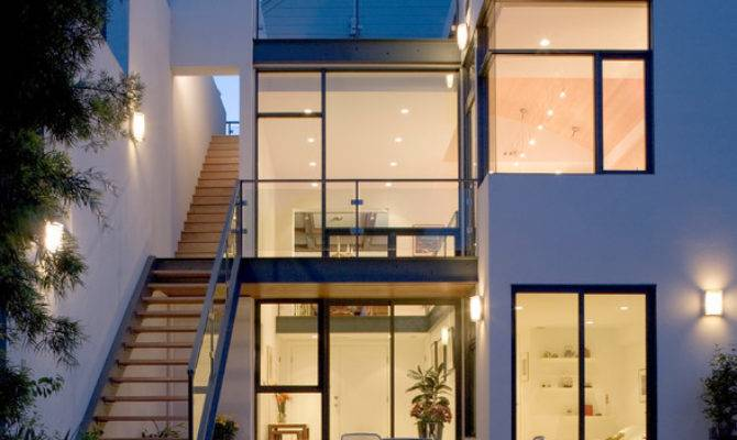 Townhouse Addition Contemporary Exterior San