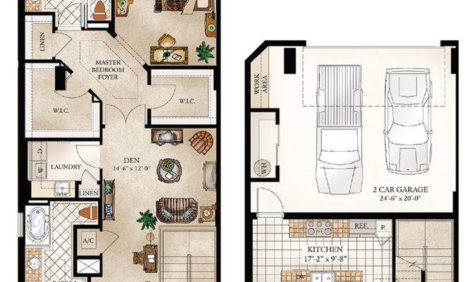 Townhouse Floor Plan Luxury Homes Plans