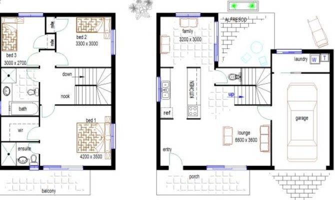 Duplex Blueprints Free Inspiration
