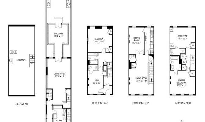 Townhouse Floor Plans