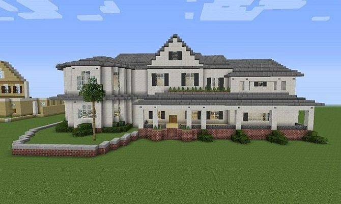 Townhouse Mansion Minecraft House Design House Plans 114506
