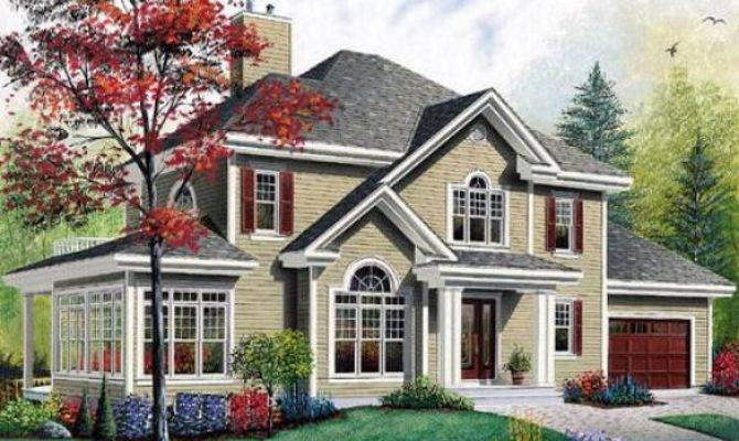 Traditional American Home Plans Find House