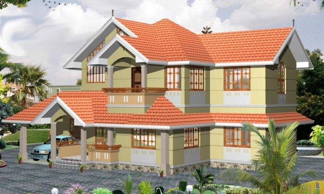 Traditional Bhk Kerala Villa Design