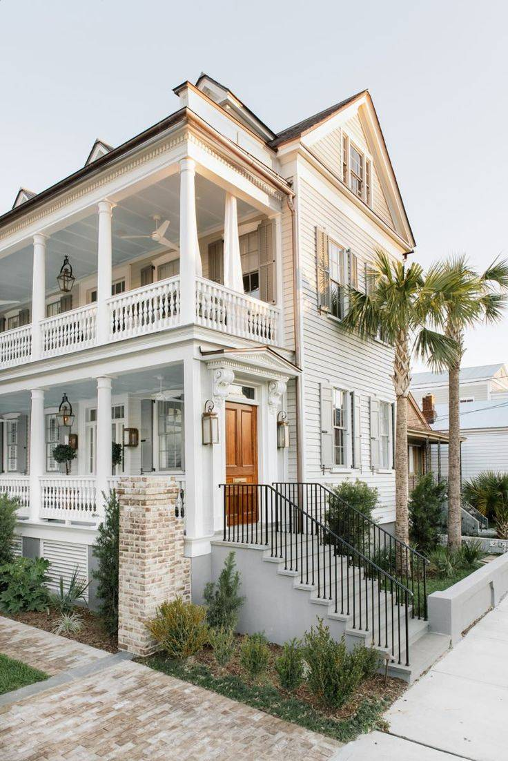 Traditional Charleston Style House Plans House Plans 136550