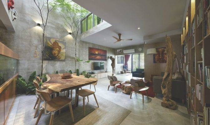 Traditional Courtyard House Reinvented Malaysia