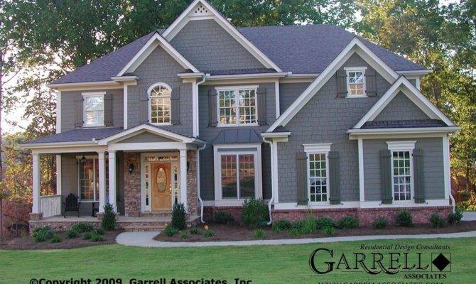 Traditional Craftsman Style House Plans Unique Garrell