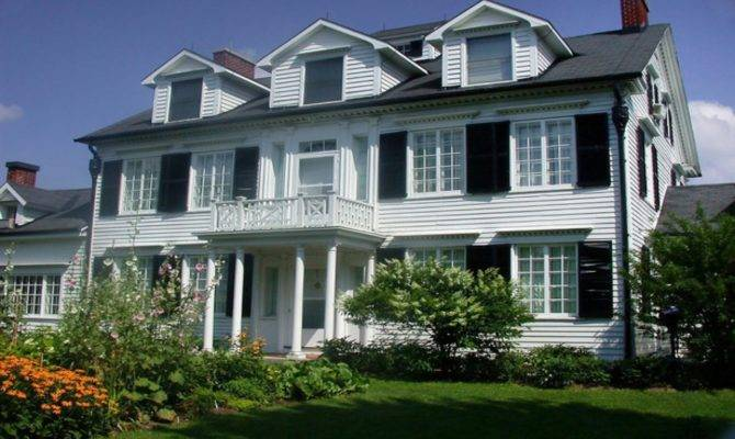 Traditional Home Exteriors Colonial Style Exterior