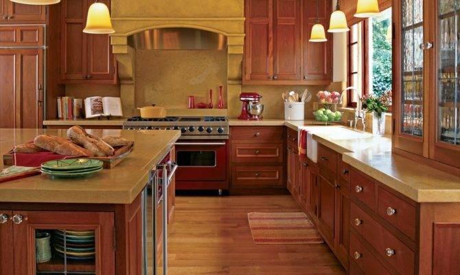 Traditional Home Kitchens Design Interior Decor