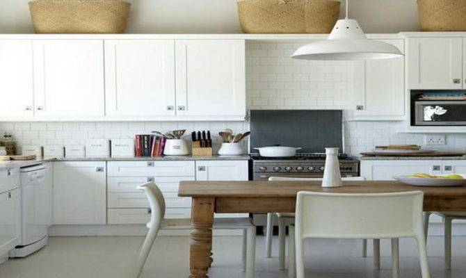 Traditional Home Kitchens White