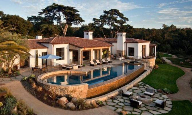 Traditional Hope Ranch Estate Hiding Modern Amenities Santa Barbara