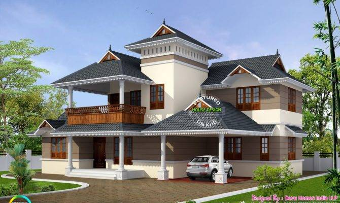 Traditional House Modern Mix Kerala Home Design