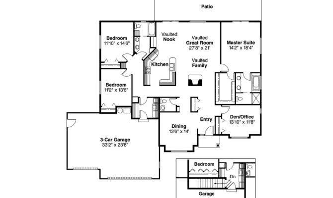 Traditional House Plan Clarkston Floor