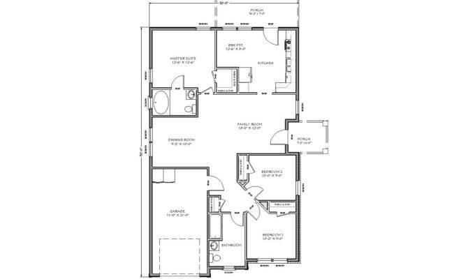 Traditional House Plan Standard Set Pdf Format
