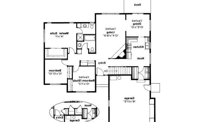 Traditional House Plan Ventura Floor