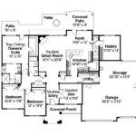 Traditional House Plans Abbington Associated Designs