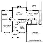 Traditional House Plans Coleridge Associated Designs