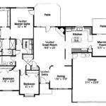 Traditional House Plans Cottonwood Associated Designs