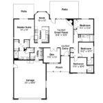 Traditional House Plans Eldon Associated Designs
