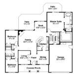 Traditional House Plans Hennebery Associated Designs
