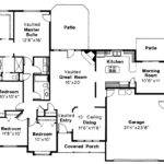 Traditional House Plans Midland Associated Designs