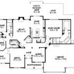 Traditional House Plans Spencer Associated Designs