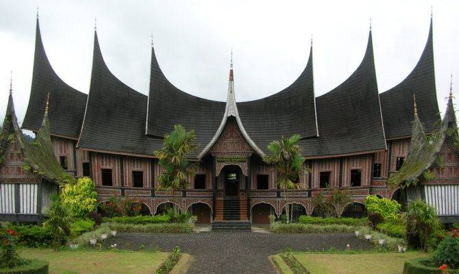 Traditional Houses Indonesia Preserving Nature