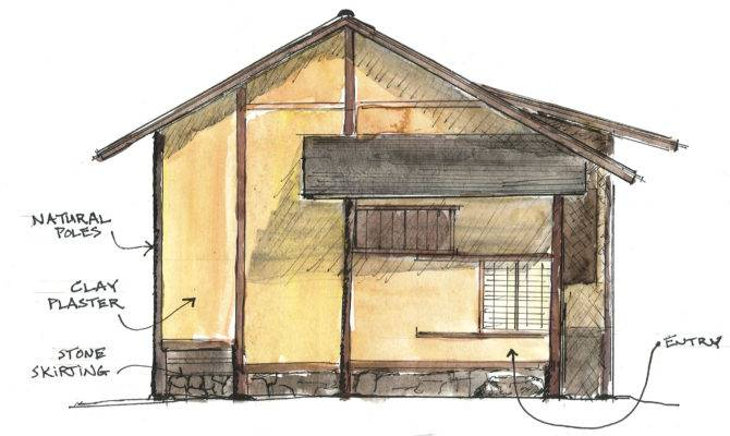 Traditional Japanese House Design Floor Plan