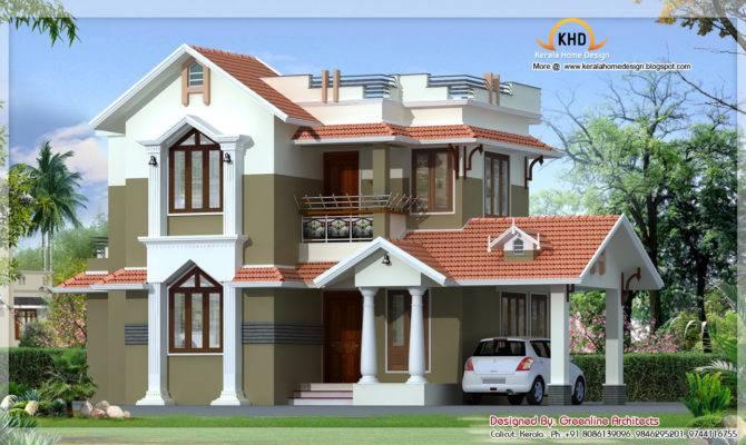 Traditional Mix Contemporary Home Kerala