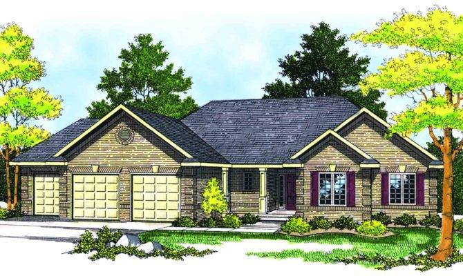 Traditional Ranch Style Home Plan