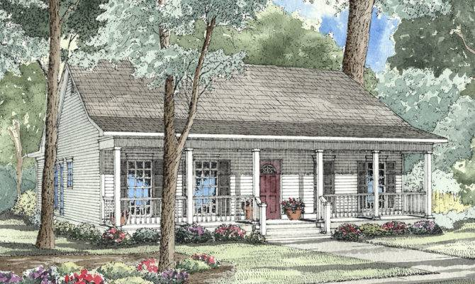Traditional Southern Style Home Plan