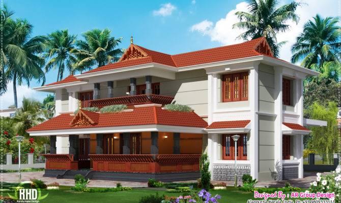 Traditional Style Home Design Feet Kerala