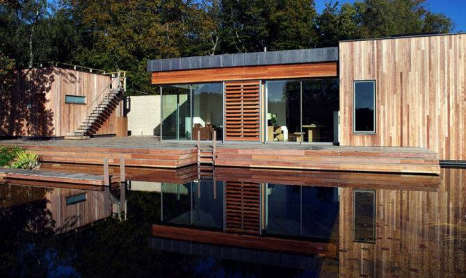 Tranquil Forest House Sustainable Modern Design