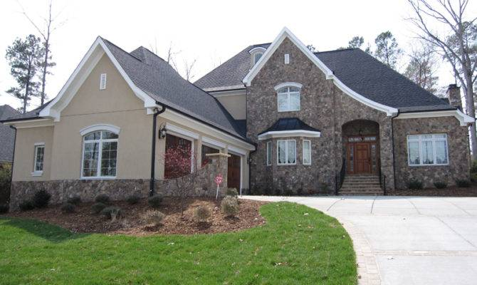 Transitional Style Home